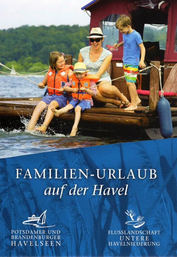 Familienurlaub auf der Havel