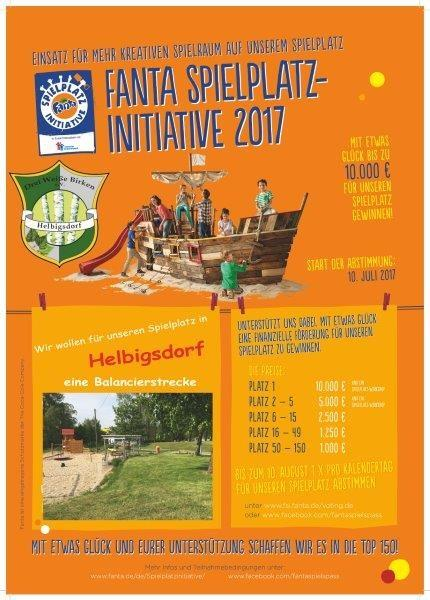 Fanta Spielplatz-Initaitive 2017