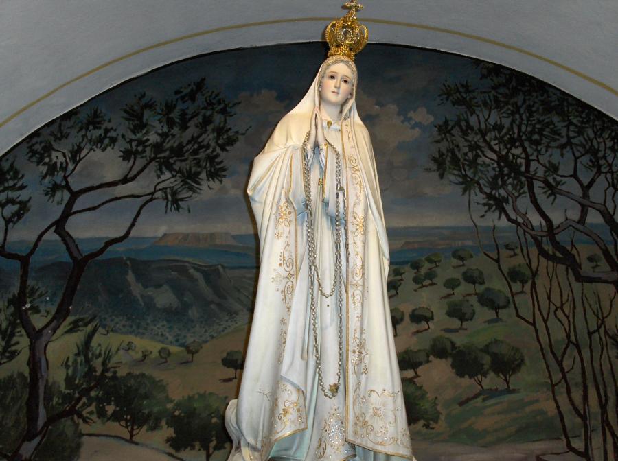 Fatimakapelle Madonna