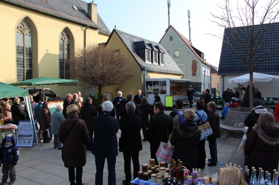 1. Bauernmarkt am 12.03.2016