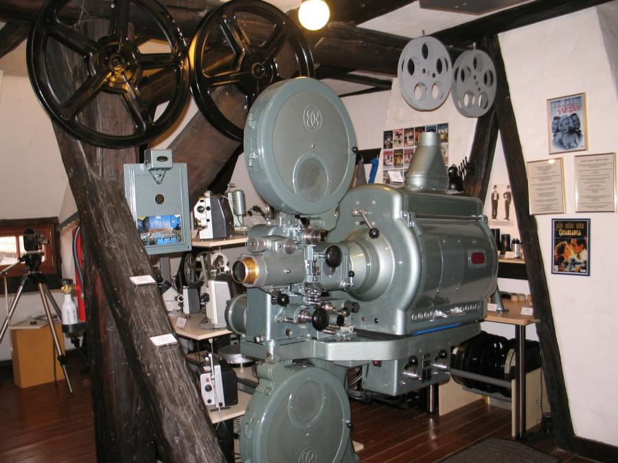 letzte Maschine a.d. Gandion-Kino