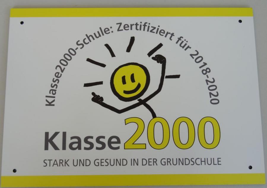 Klasse2000 seit Schuljahr 2016/17 - Teilnahme seit Schuljahr 2011/12