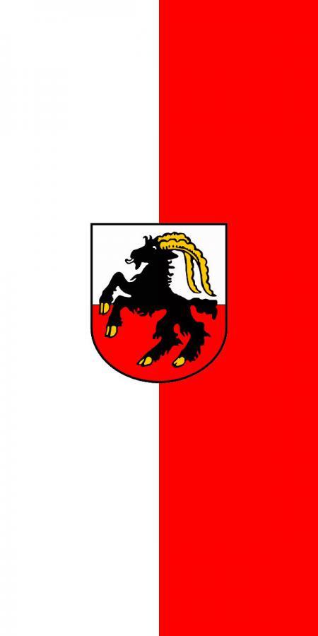 Flagge der Stadt Jüterbog