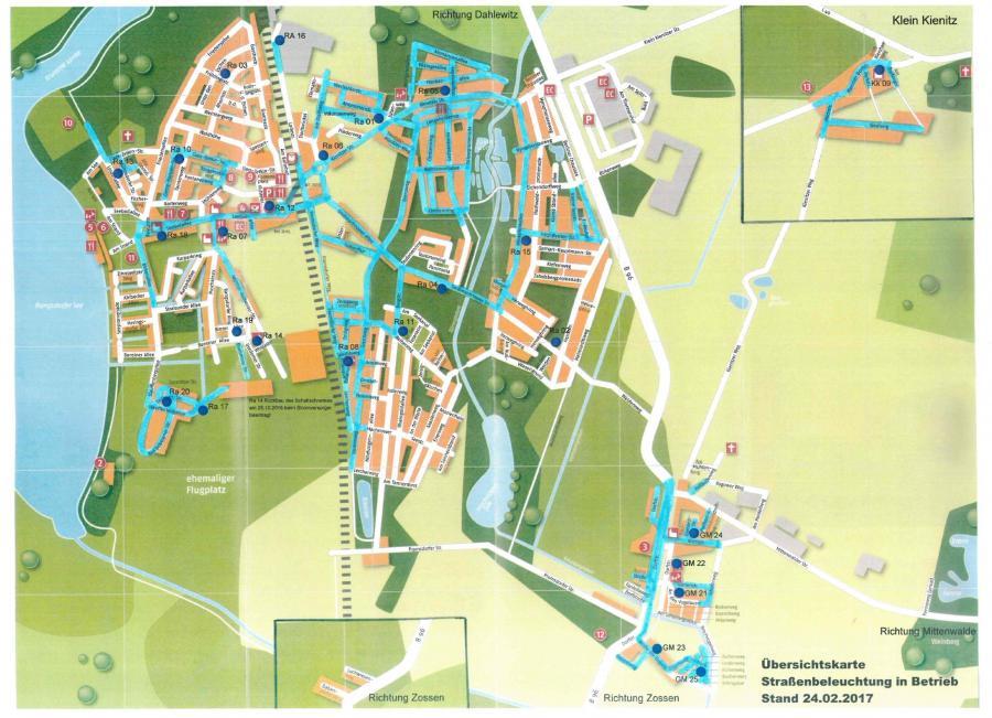 © Gemeinde Rangsdorf - Karte Stand 27.02.2017