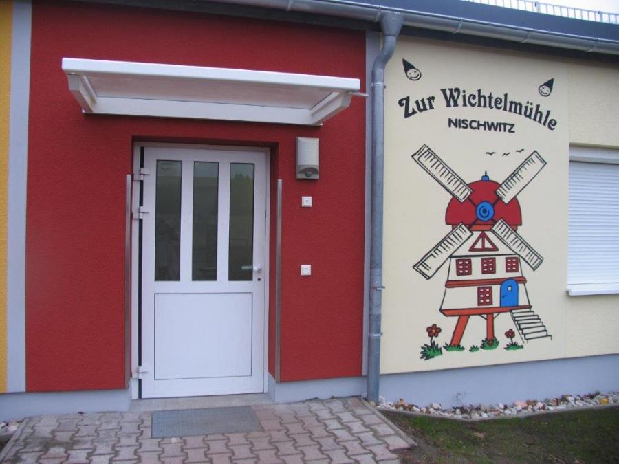 Eingangsbereich Kita Nischwitz