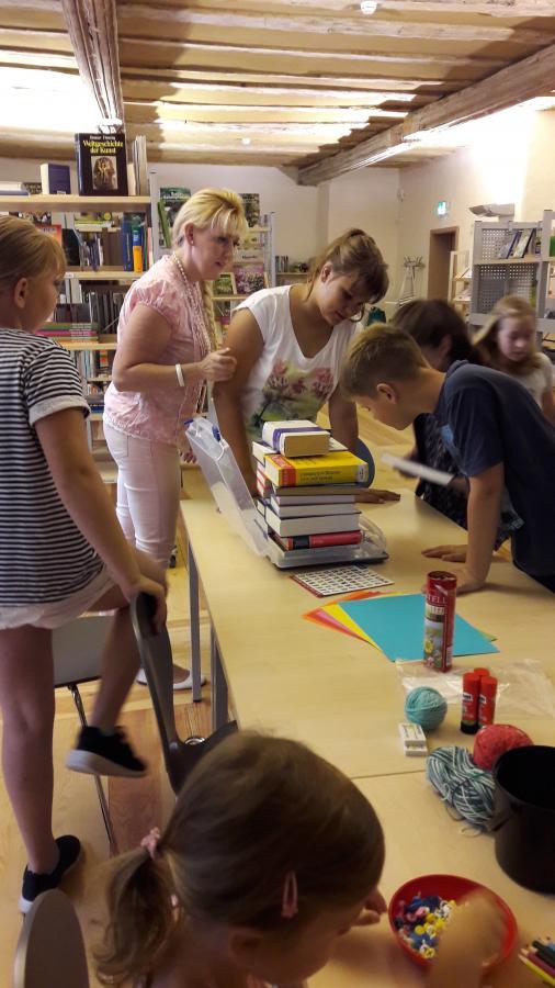 Ferien in der Schlossbibliothek