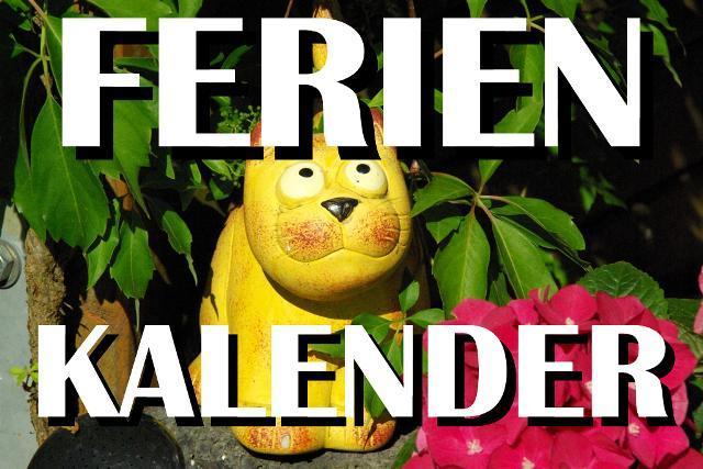 Ferienkalender Brandenburg