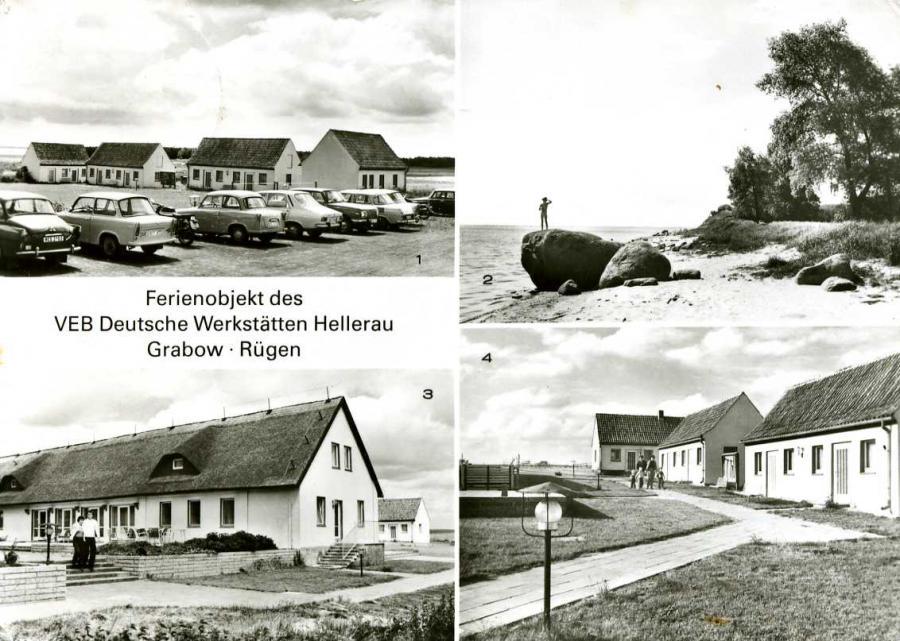 Ferienobjekt des VEB Deutsche Werkstätten Hellerau Grabow -Rügen