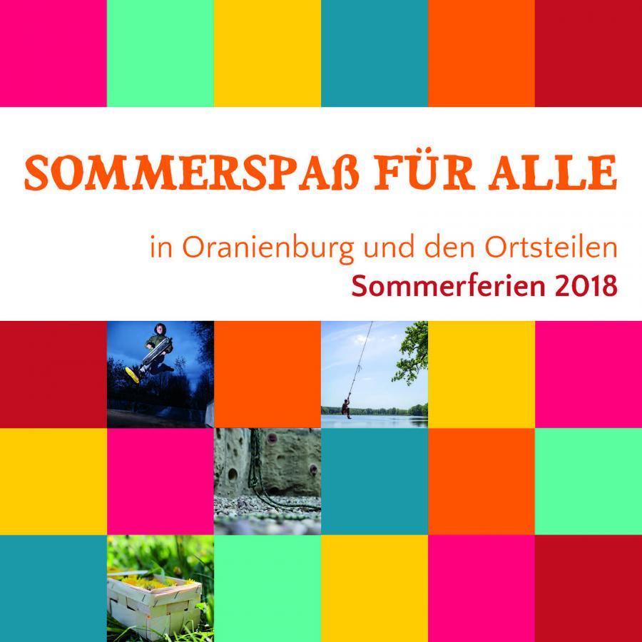 Ferienpass Cover 2018