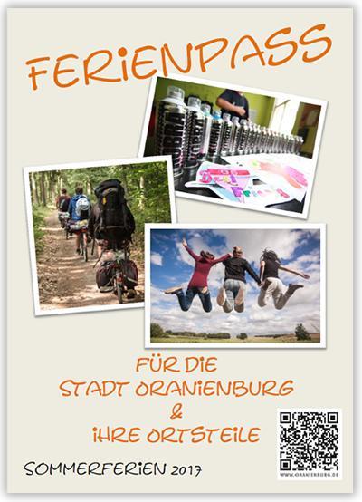 Ferienpass für die Stadt Oranienburg 2017 (Cover)