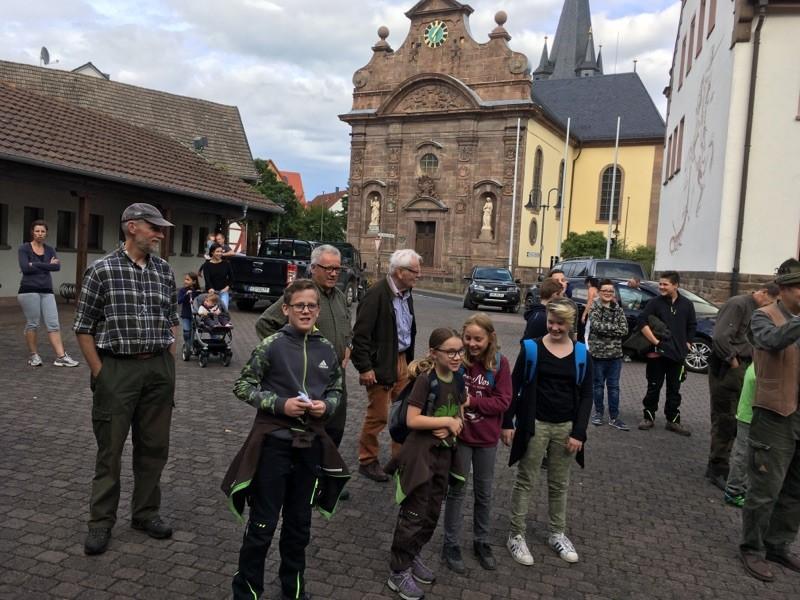 Mit dem Jäger auf der Jagd - Ferienprogramm Hegegemeinschaft Lüdertal