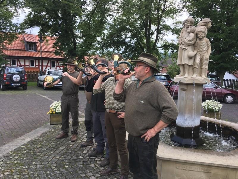 Mit dem Jäger auf der Jagd - Ferienprogramm der Hegegemeinschaft Lüdertal