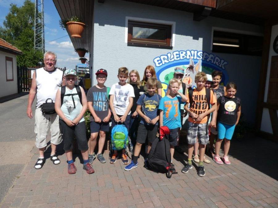 Ferienprogramm 2017 mit den Natur- und Wanderfreunden