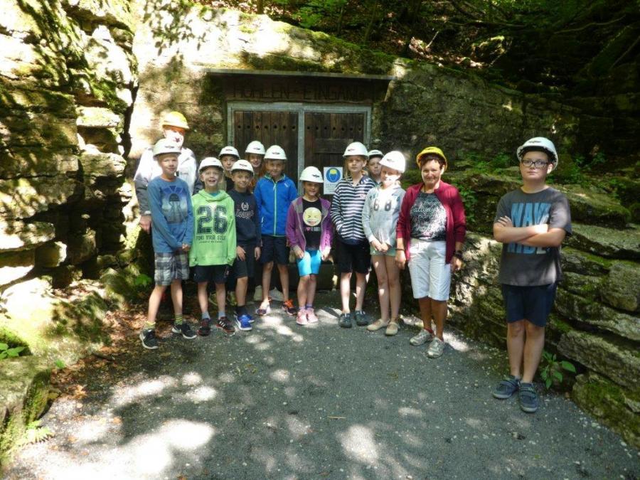 Ferienprogramm 2017 mit den Natur- und Wanderfreunden Großenlüder
