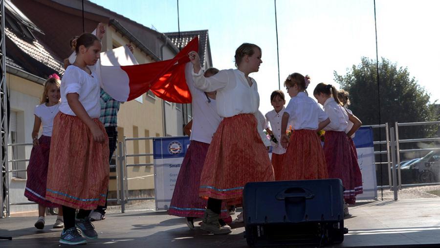 Tanz der Kinder Partnerschule Sulecin