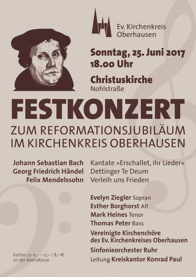 Festkonzert 25. Juni 2017