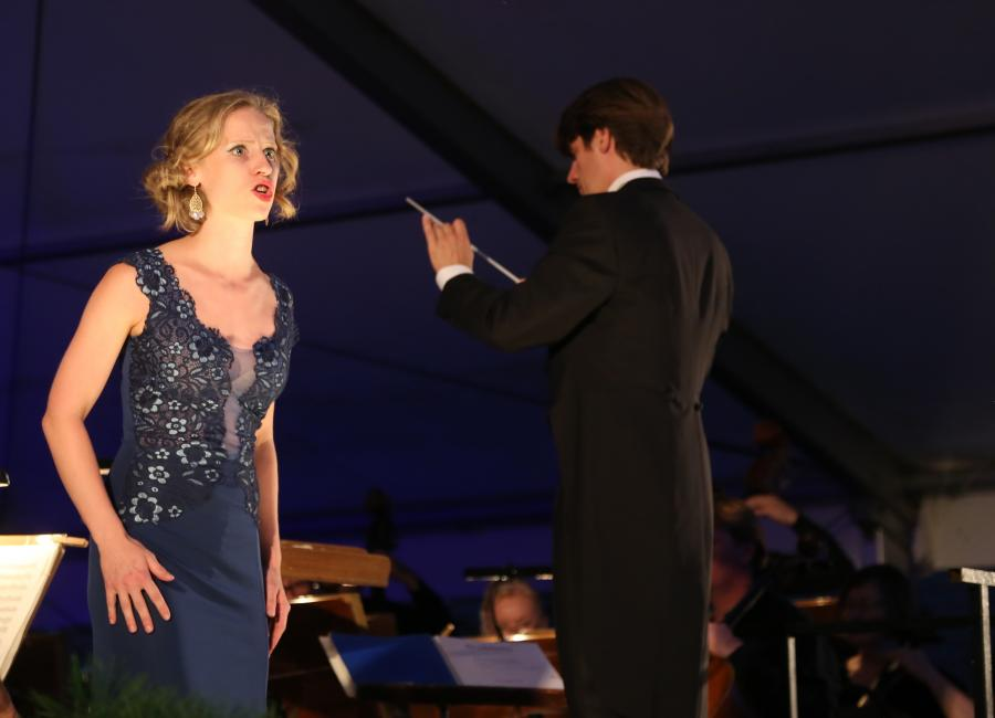 Festliche  Operngala 2018, Franziska Weber, © Elke Lang