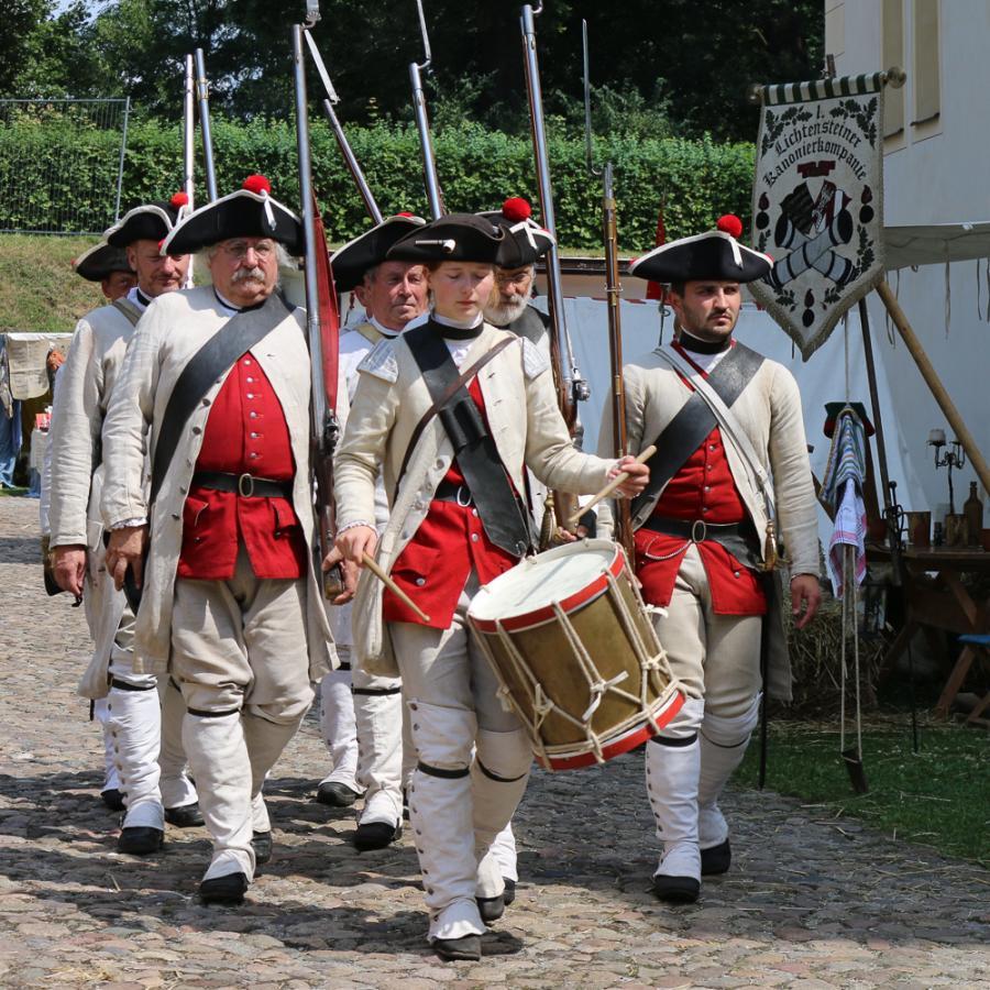 Festungsspektakel_Soldaten_ Foto Museum OSL