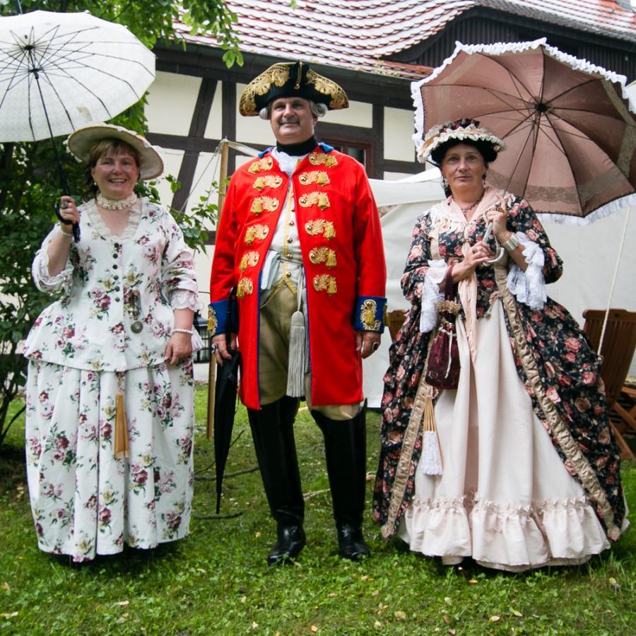 Barocke Mode_Festungsspektakel 2017_Foto: Museum OSL
