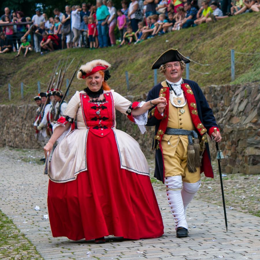 Festungsspektakel_Preußen trifft Sachsen_ Foto Museum OSL