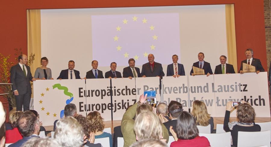 Festakt zur Aufnahme neuer Mitglieder in den Europäischen Parkverbund Lausitz am 24. Februar in Bad Muskau: Die Aufnahmeveranstaltung reiht sich würdig in das Europäische Kulturerbejahr ein.