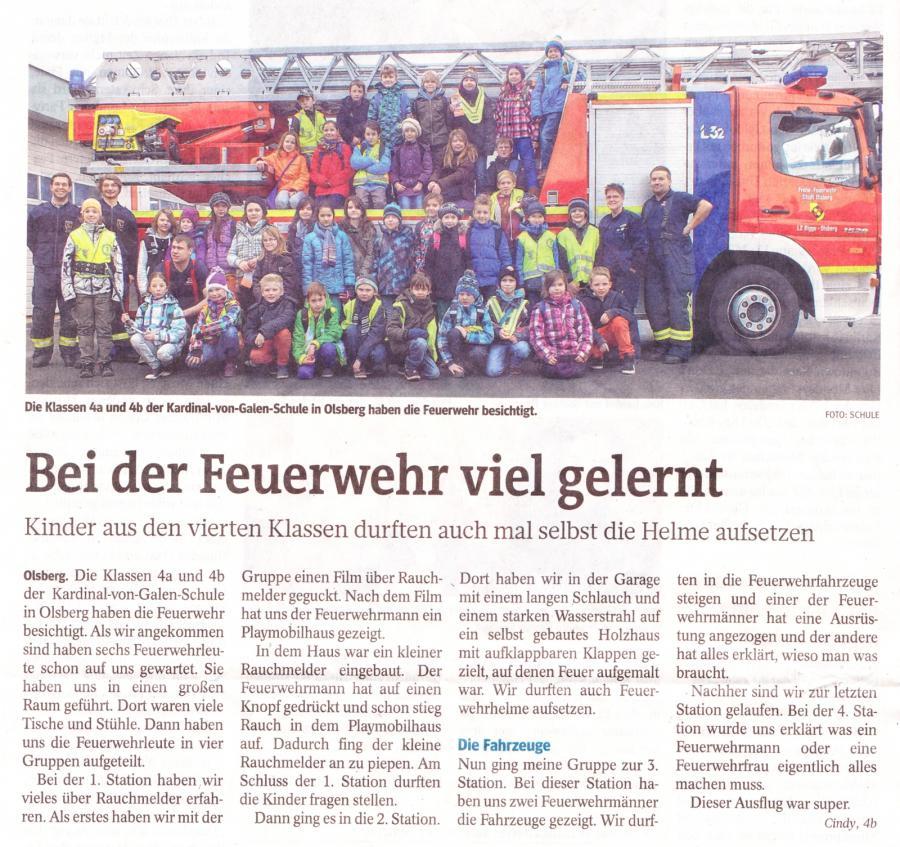 Feuerwehr 4a, 4b