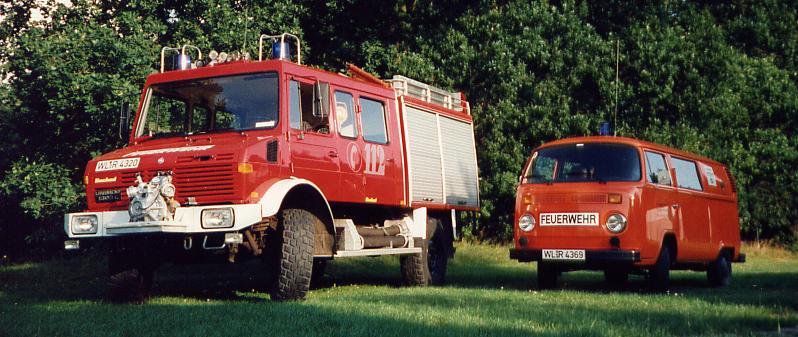 Feuerwehr Fahrzeuge Handeloh 1997