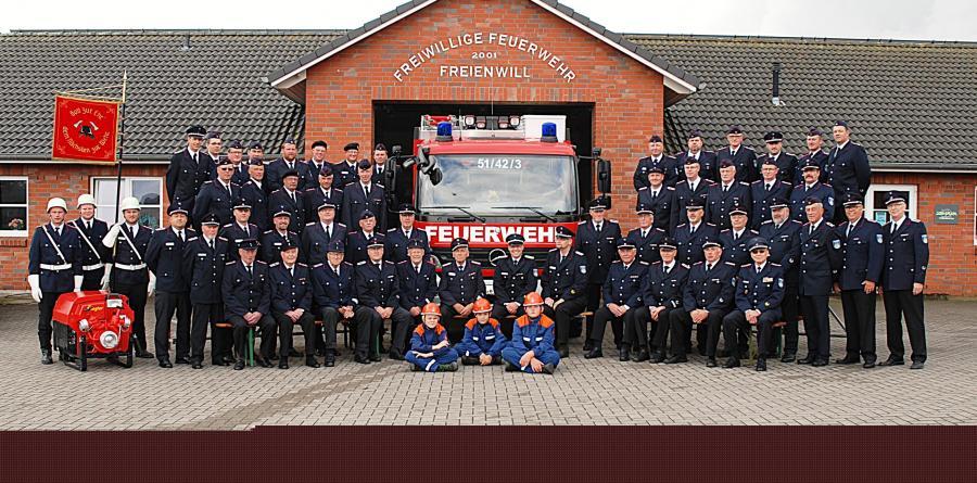 Feuerwehr Freienwill 125 Jahre