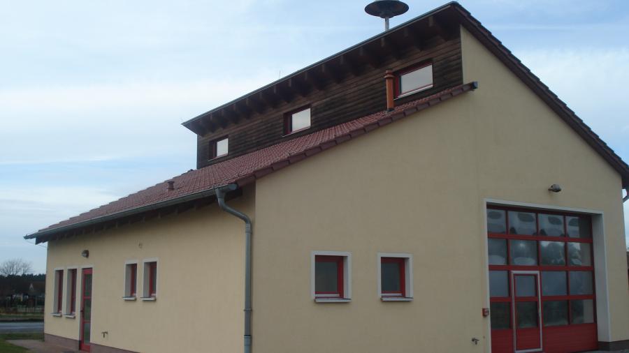 Feuerwehrgerätehaus Ortsteil Schernsdorf