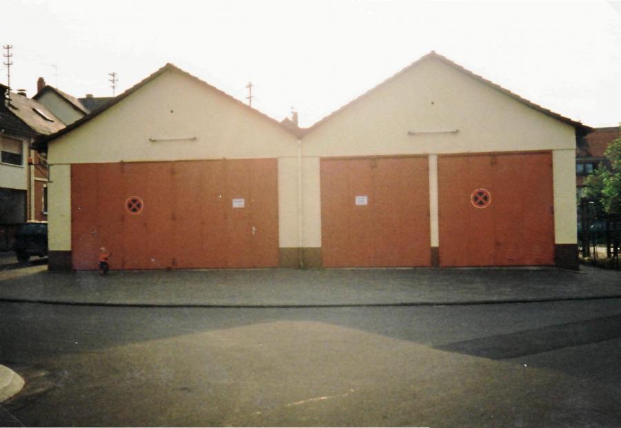 Feuerwehrhaus Krofdorf-Gleiberg bis 1990