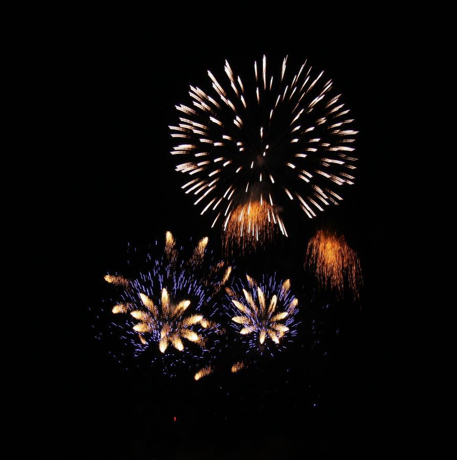 Feuerwerksvorführung 2018