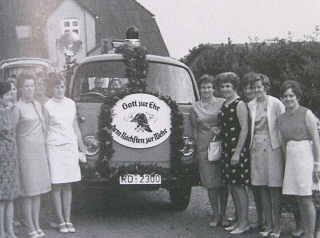 VW-Feuerwehrfahrzeug