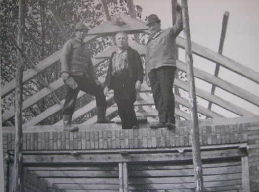 Richtfest vom neuen Feuerwehrgerätehaus - September 1974