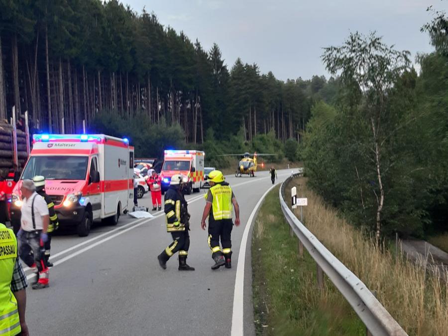 Schwerer VU PA 93, Höhe Feuerschwendt
