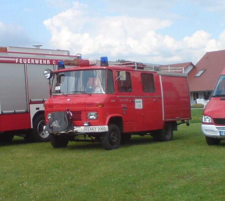 Freiwillige Feuerwehr Kulmain Fahrzeuge Historie