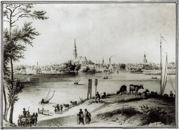 Neuruppin um 1850