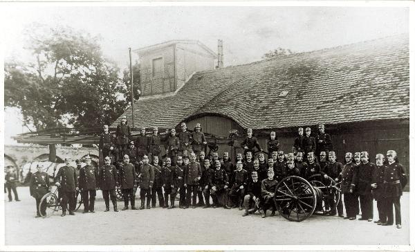 Spritzenhaus um 1916