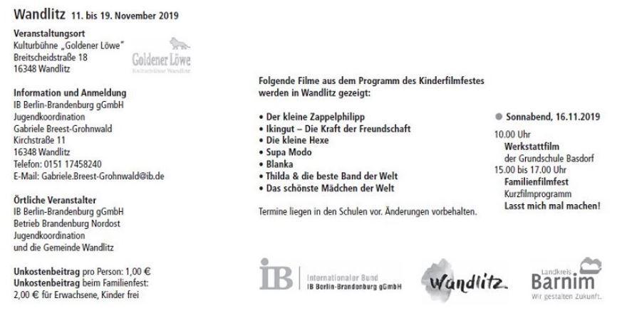 FFF 2019 Wandlitz