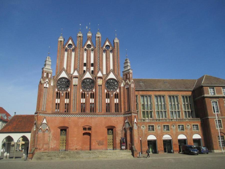 Das Rathaus von Frankfurt (Oder)
