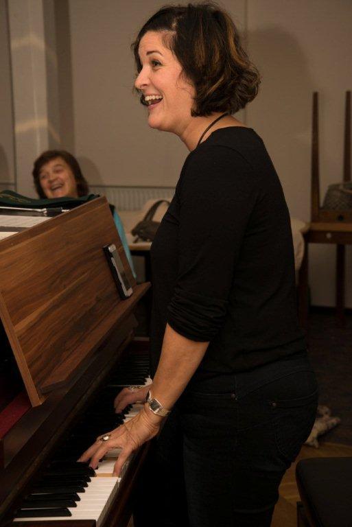 Chorleiterin Sonja Heiermann