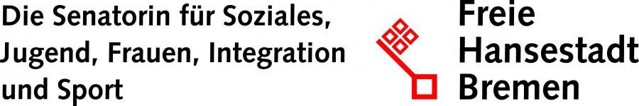 Logo Senatorin für Soziales, Jugend, Frauen, Integration und Sport