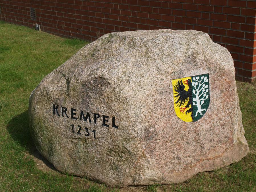 Findling in Krempel (Foto: S. Wershofen)