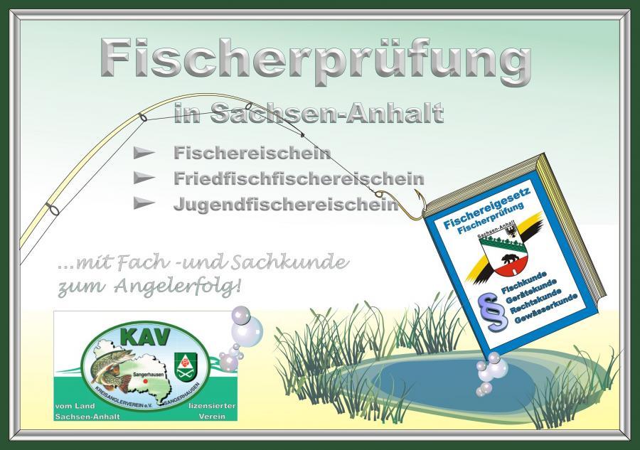Fischerprüfung in Sachsen-Anhalt