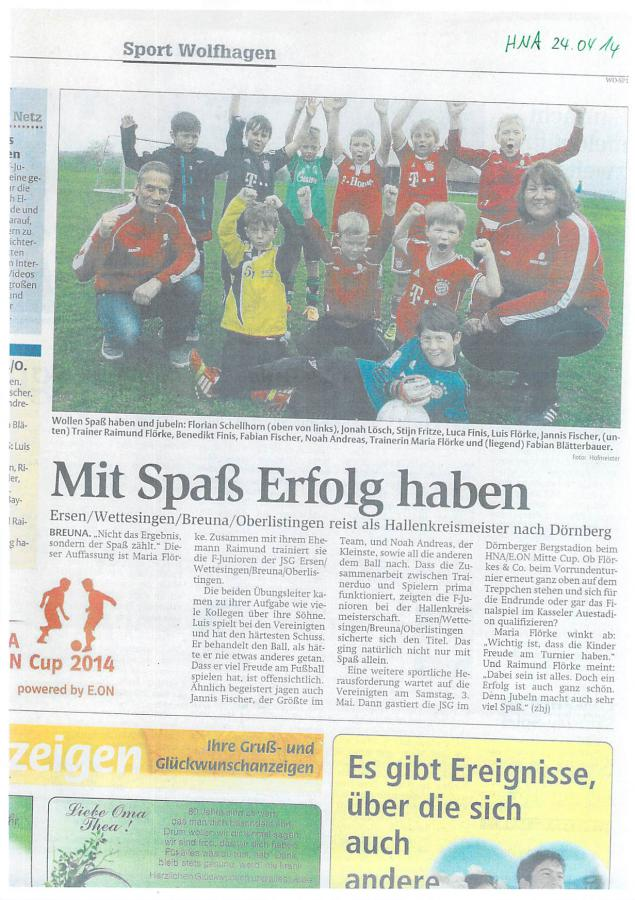 Unsere F-Jugend