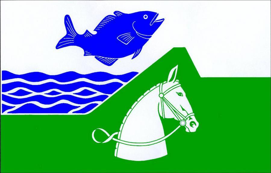 Flagge der Gemeinde Seester