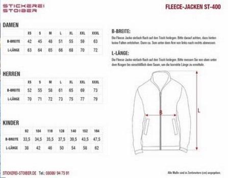 Fleece-Jacke