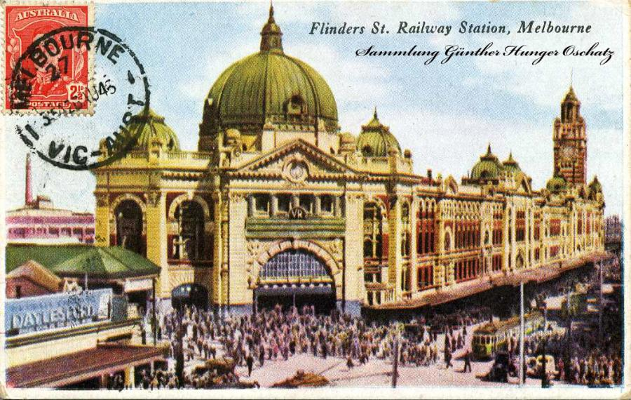Flinders St. Railway Station Melbourne