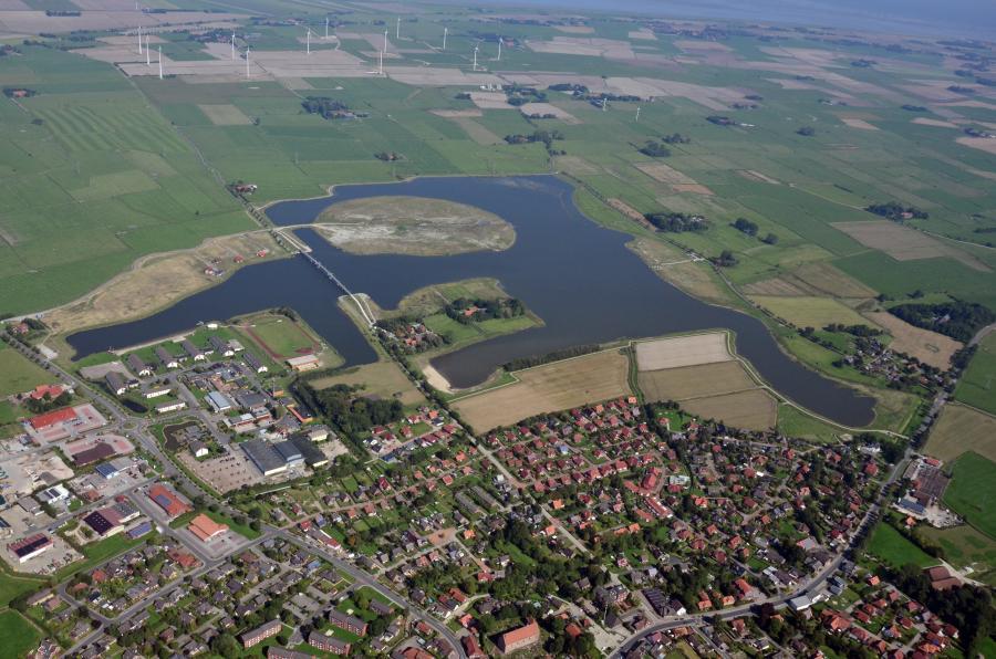 Luftbild Wangermeer