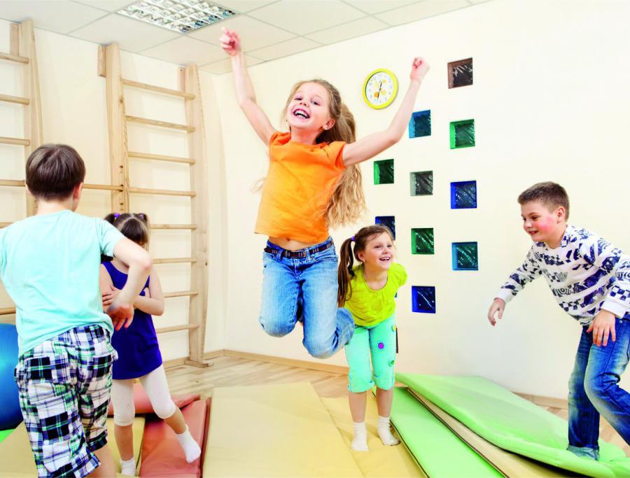 Sport und Bewegung im Kindergarten