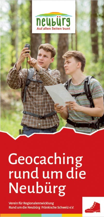 Geocaching-Flyer